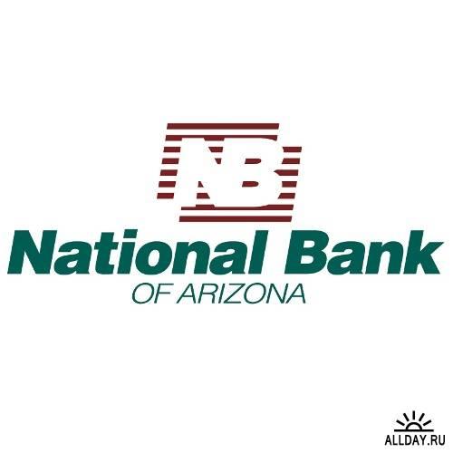 Сборник эмблем банков в векторе