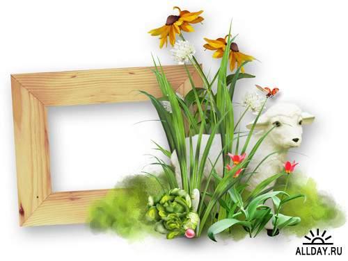 Children Frame - cutouts | Детские рамки - вырезы