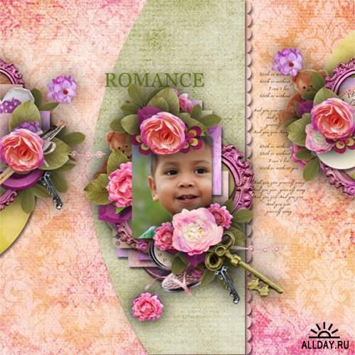 Скрап-набор  My Romance