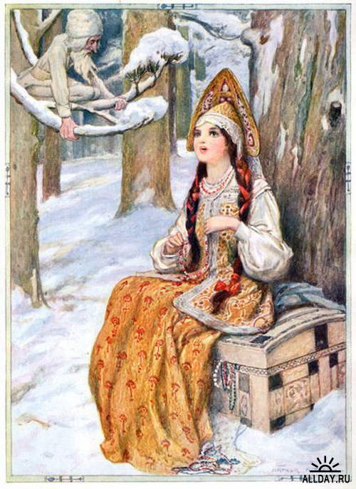 Иллюстратор Артур Август Диксон (Arthur Augustus Dixon) 1872-1959