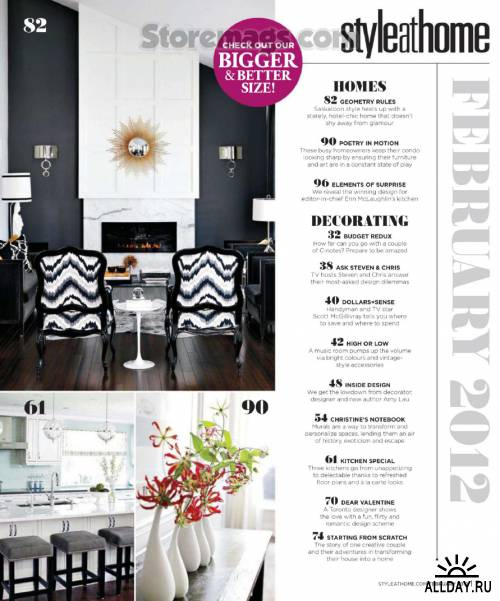 Style At Home - February 2012