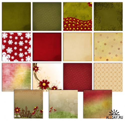 Скрап-набор Прекрасный майский сад  | May  Lovely Garden