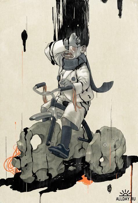 Новая подборка работ иллюстратора James Jean