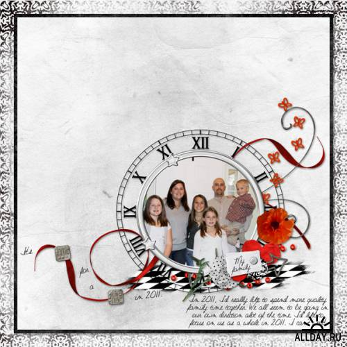Scrap kit Time and Time Again