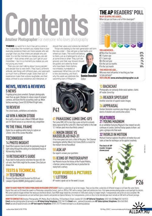Amateur Photographer 19 May 2012
