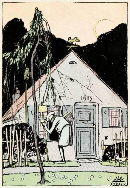 American illustrator Charles Buckles Falls (1874-1960)