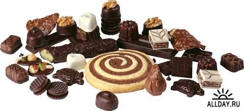 Шоколадные конфеты - подборка стоковых изображений