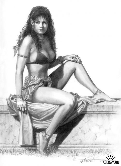 Рисунки Ларри Элмора