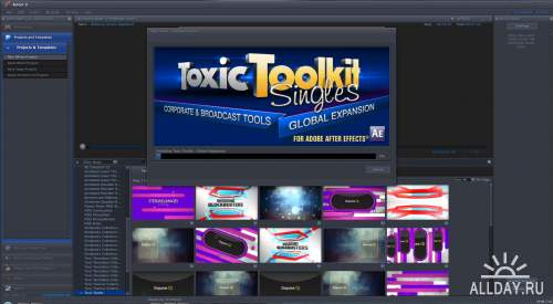 Digital Juice - Toxic Toolkit Singles - Global Expansion (.djprojects)