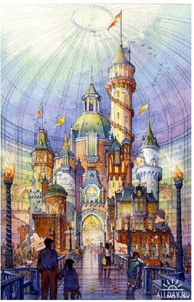 Работы художника Thomas W. Schaller.