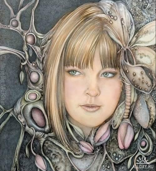 Художница Janelle McKain.