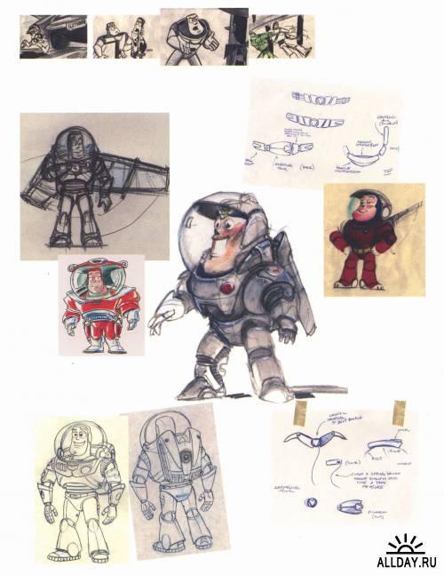 Walt Disney's The Sketchbook Series