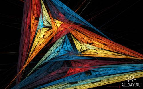 50 Wonderful Colorful Abstract HD Wallpapers (Set 10)