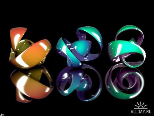 Подборка обоев на тему стекло