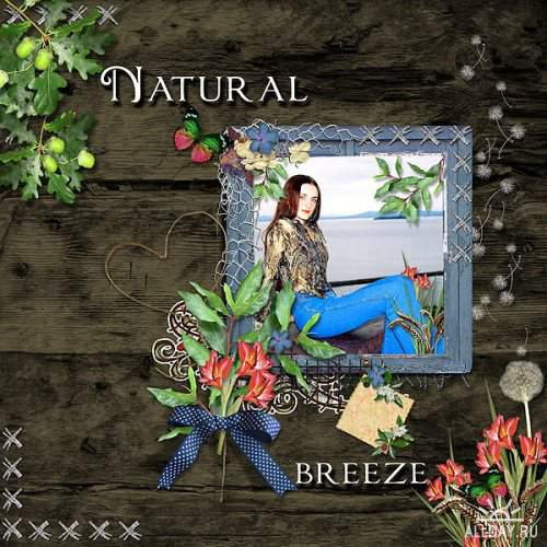 Скрап-набор - Natural Breeze