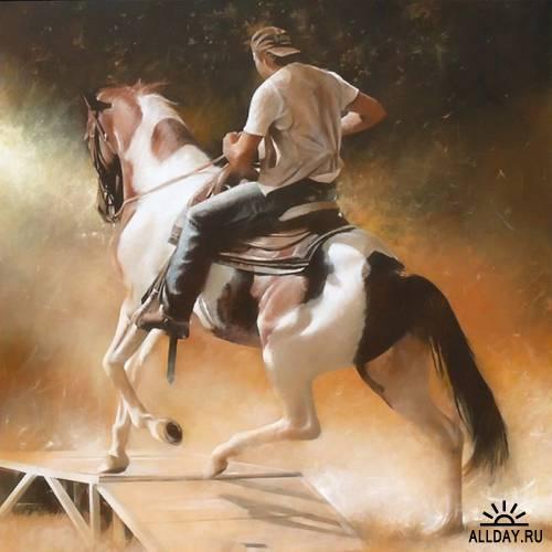Рисованая графика художника Antonio Sgarbossa