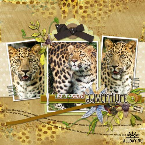 Скрап-набор - Safari Collection