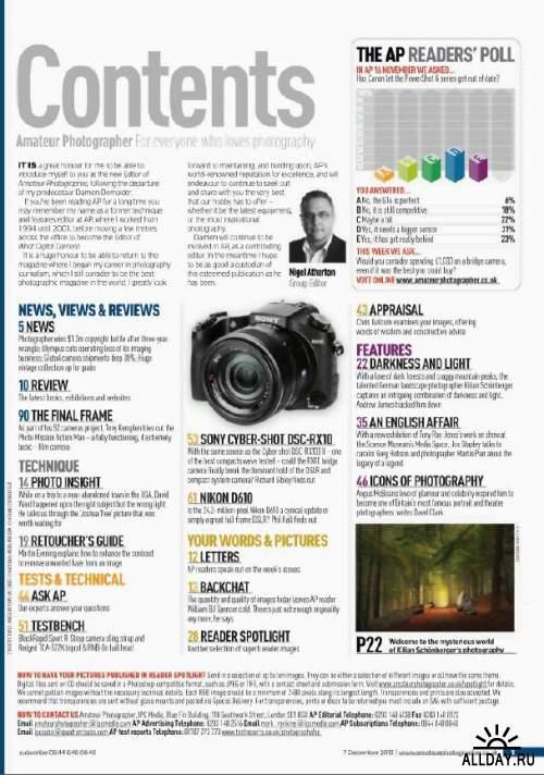Amateur Photographer 7 December 2013