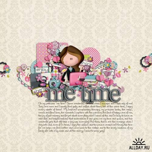 Скрап-набор My Time