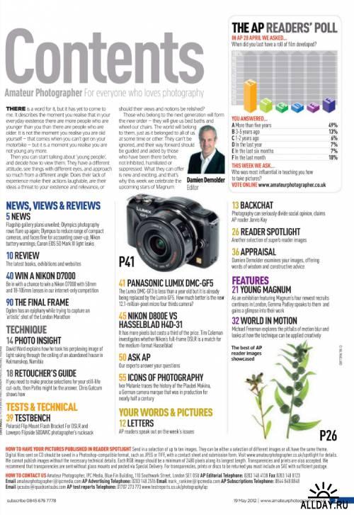 Amateur Photographer - 19 May 2012