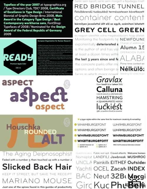 Сборник красивых шрифтов / Fonts pack 11