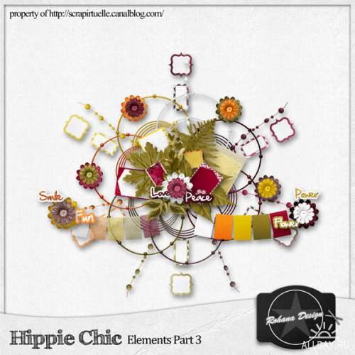 Скрап набор - Hippie Chic