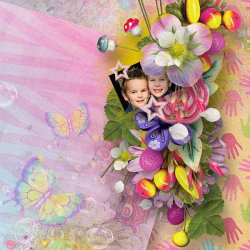 Скрап-набор Spring Me Up - Весенний Настрой