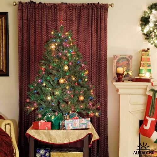 Фотосток Рождественская обстановка 4