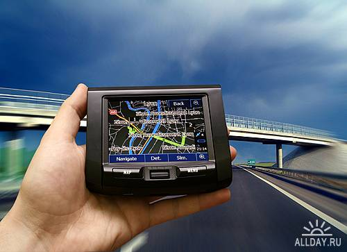 UHQ Stock Photo - Gps Navigator | GPS Навигатор