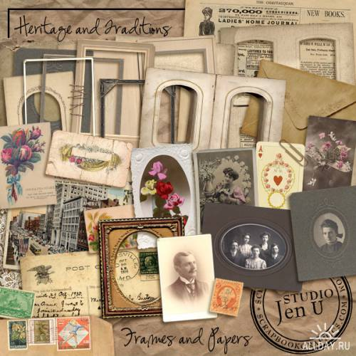 Scrap kit  Heritage&Traditions