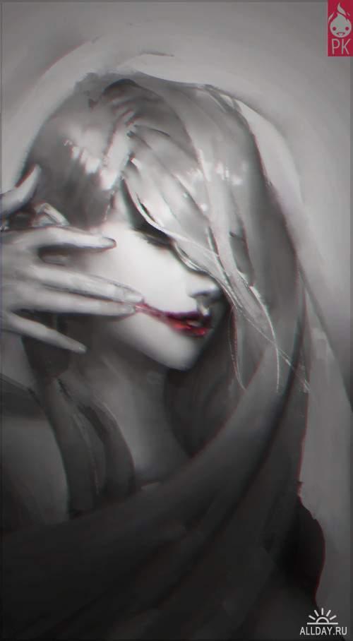 Работы художника - Paul Hyun Woo Kwon (Zeronis)