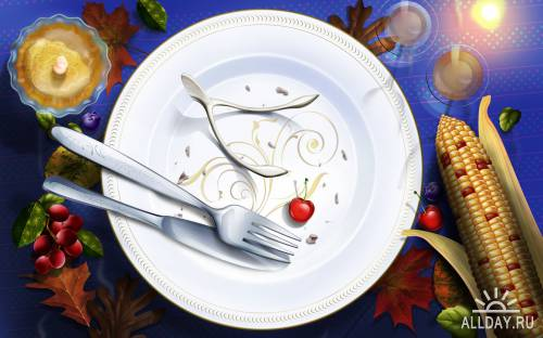 40 Thanksgiving Day Wallpapers