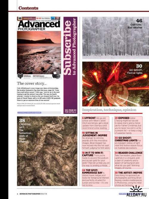 Advanced Photographer Issue 38, 2013