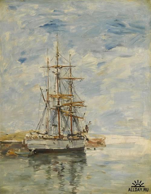 Эжен Буден (Eugene Boudin) - живописец предшественник импрессионизма