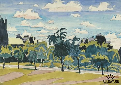 Картины Чарльза  Бёрчфилда