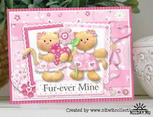 Scrap kit  Val 'n Tine Collection
