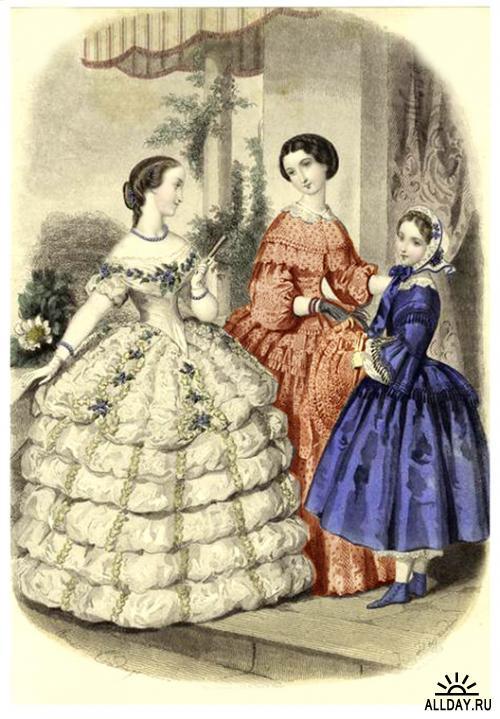 Женщины и мода   XIX в (3 часть)