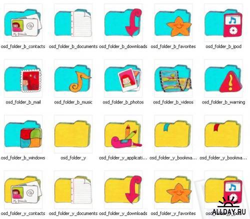O Sunny Day icons