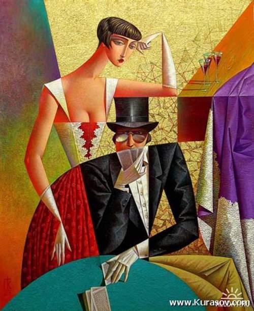 Георгий Курасов. Геометрическая живопись