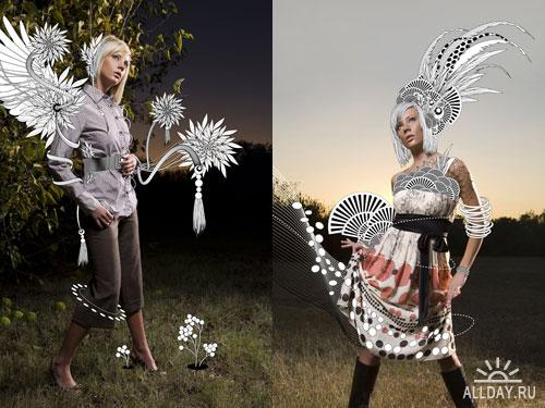 Цветочный фото-креатив