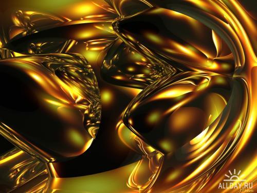 Коллекция абстрактных 3D обоин