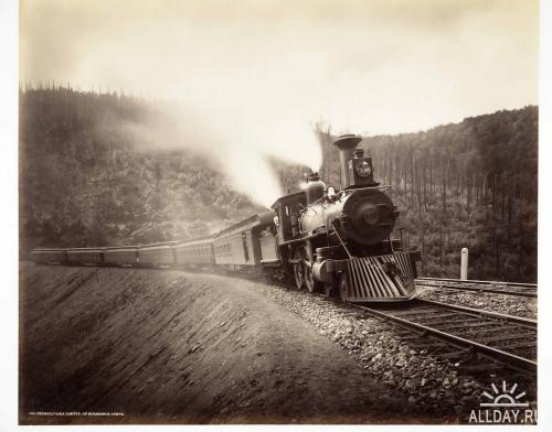 "Rau William.""Pennsylvania Railroad Photographs"" (1890)"