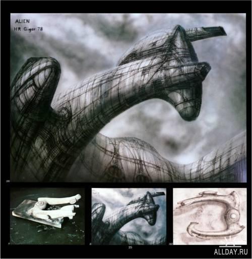 Книга Ганса Гигера - Чужой/Gigers Alien