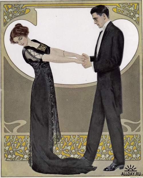Художник-иллюстратор Clarence Coles Phillips (1880 - 1927)