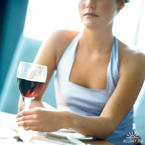 Качественный растровый клипарт - Вино