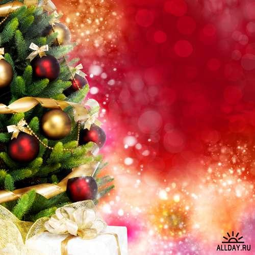 Новогодняя елка - Растровый клипарт | Christmas Tree - UHQ Stock Photo