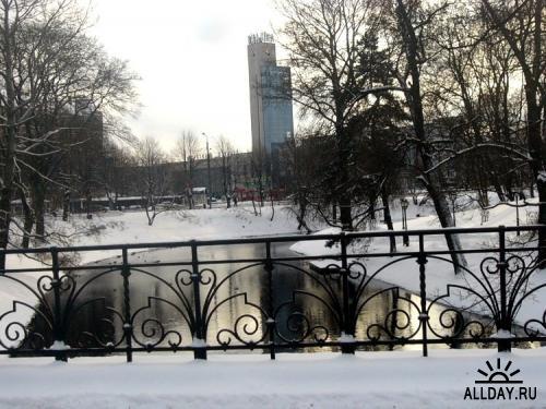 Рига зимой