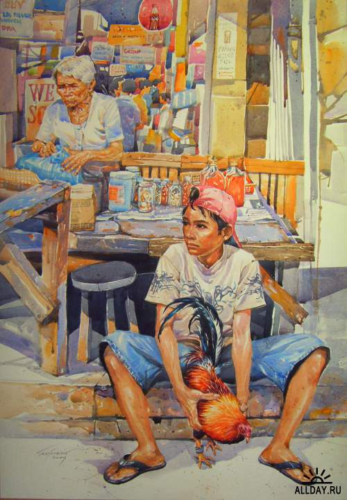 Artworks by Edbon Sevilleno