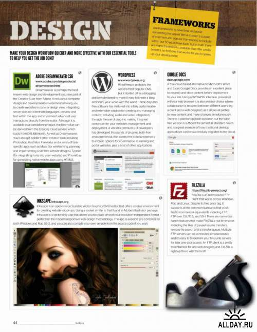 Web Designer Issue 209 / 2013 (UK)