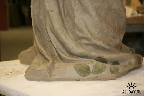 Karen LaMonte. Стеклянная скульптура